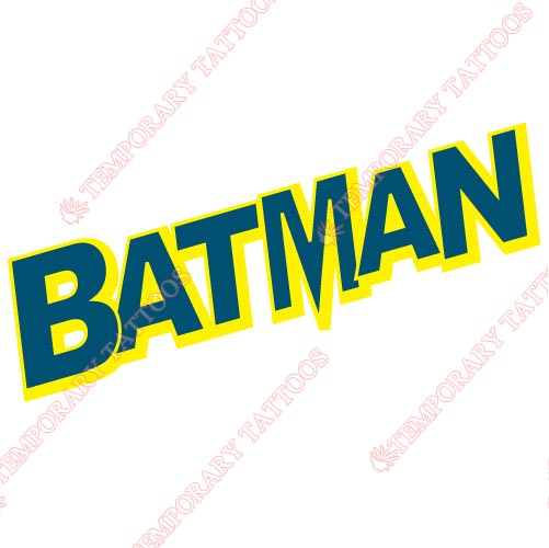 Batman Customize Temporary Tattoos Stickers NO.23