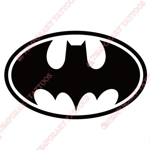 Batman Customize Temporary Tattoos Stickers NO.24