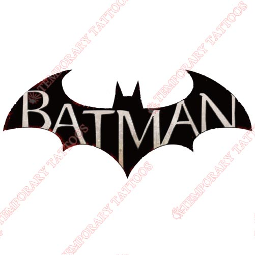 Batman Customize Temporary Tattoos Stickers NO.25