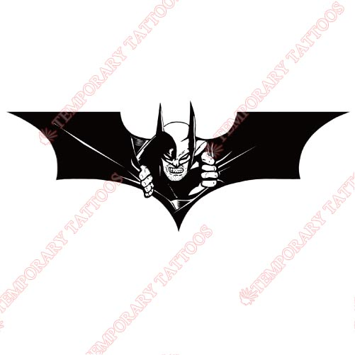 Batman Customize Temporary Tattoos Stickers NO.26