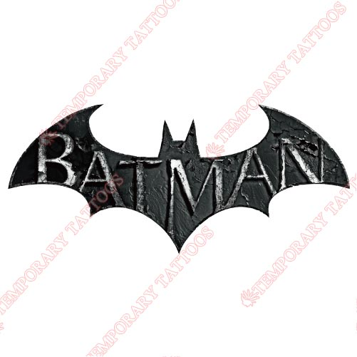 Batman Customize Temporary Tattoos Stickers NO.27