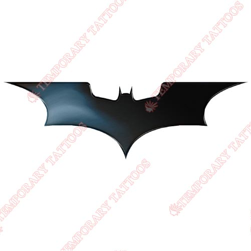 Batman Customize Temporary Tattoos Stickers NO.28