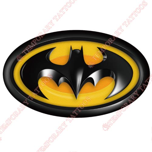Batman Customize Temporary Tattoos Stickers NO.30
