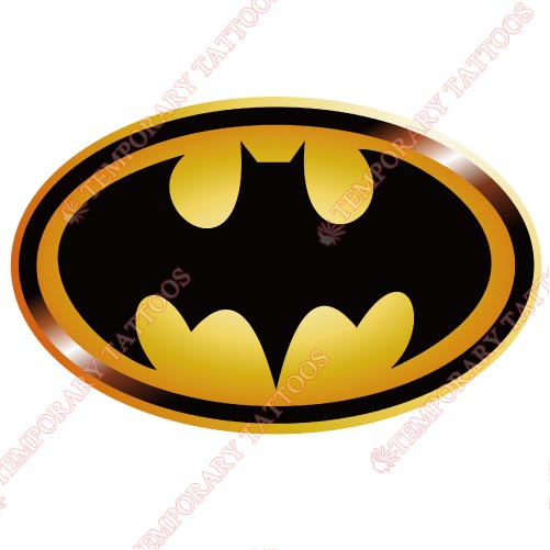 Batman Customize Temporary Tattoos Stickers NO.31