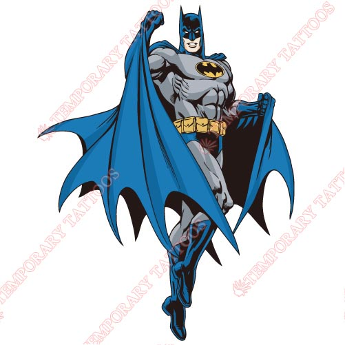 Batman Customize Temporary Tattoos Stickers NO.33