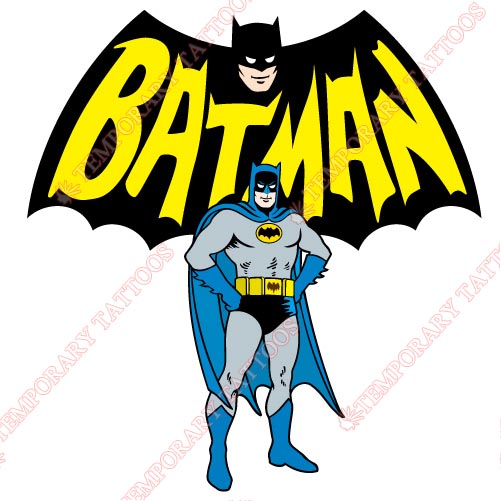 Batman Customize Temporary Tattoos Stickers NO.34