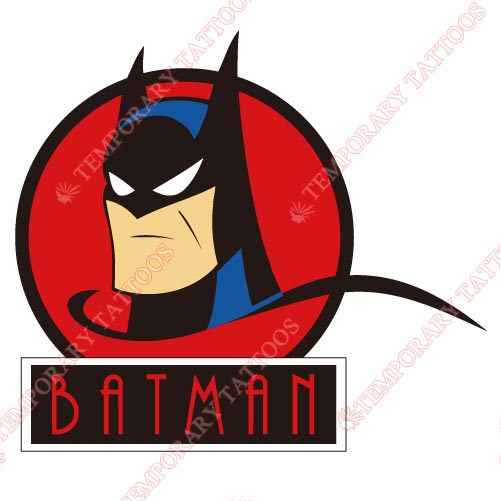 Batman Customize Temporary Tattoos Stickers NO.36