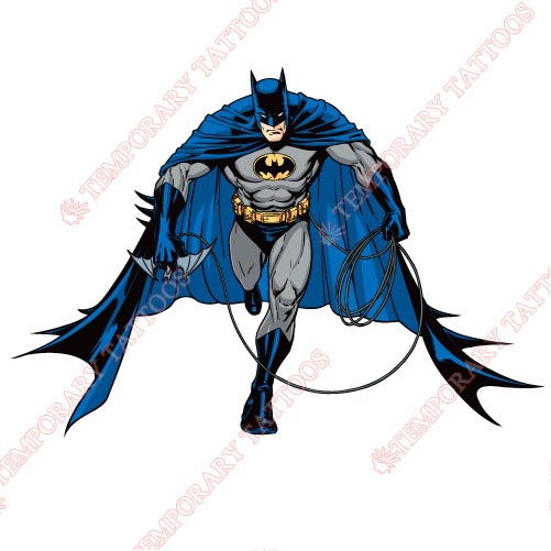Batman Customize Temporary Tattoos Stickers NO.38