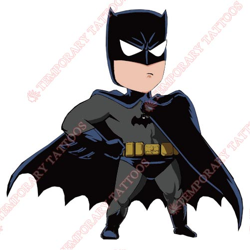 Batman Customize Temporary Tattoos Stickers NO.41