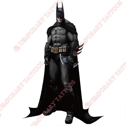 Batman Customize Temporary Tattoos Stickers NO.42
