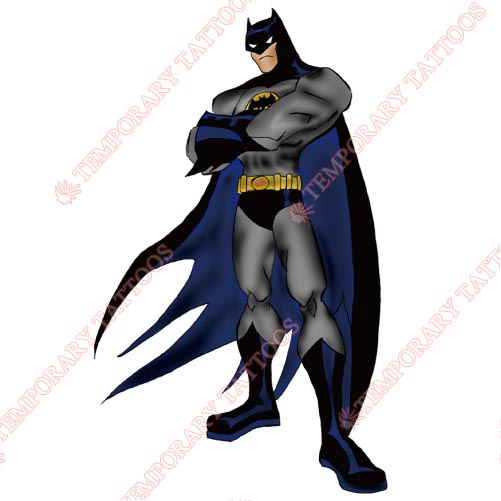 Batman Customize Temporary Tattoos Stickers NO.44