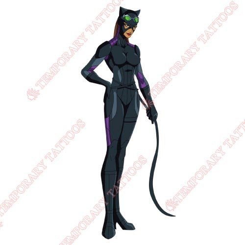 Catwoman Customize Temporary Tattoos Stickers NO.105