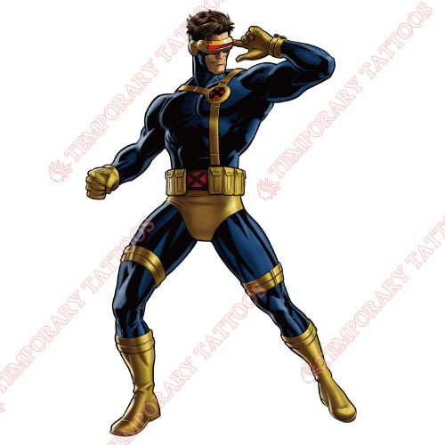 Cyclops Marvel Customize Temporary Tattoos Stickers NO.469