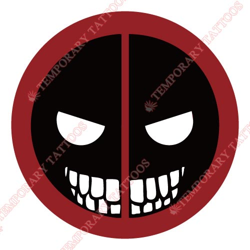 Deadpool Customize Temporary Tattoos Stickers NO.387