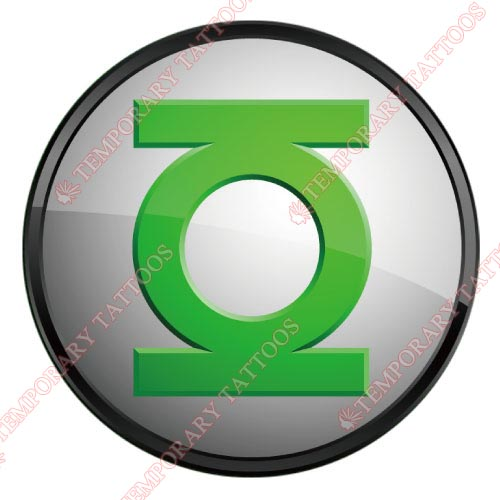 Green Lantern Customize Temporary Tattoos Stickers NO.125