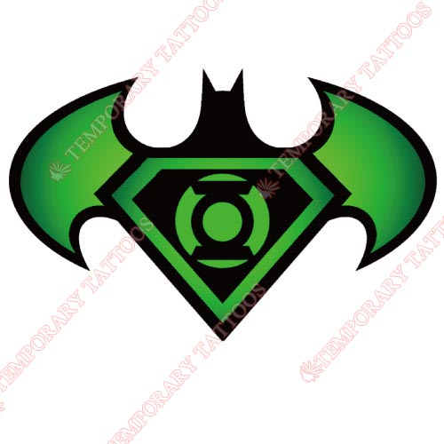 Green Lantern Customize Temporary Tattoos Stickers NO.139