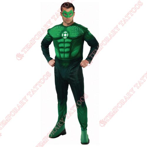 Green Lantern Customize Temporary Tattoos Stickers NO.140