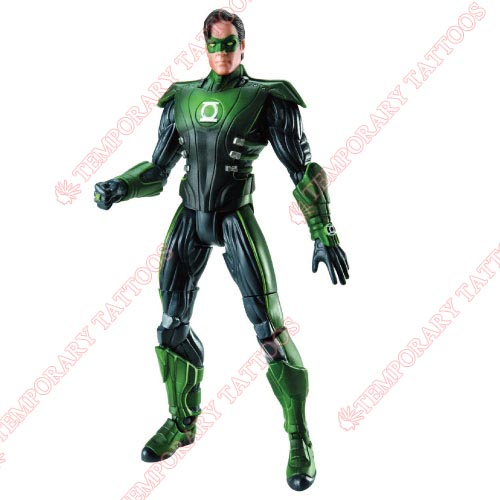 Green Lantern Customize Temporary Tattoos Stickers NO.141