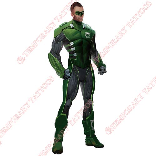Green Lantern Customize Temporary Tattoos Stickers NO.143
