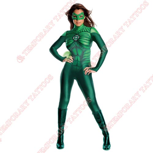 Green Lantern Customize Temporary Tattoos Stickers NO.146