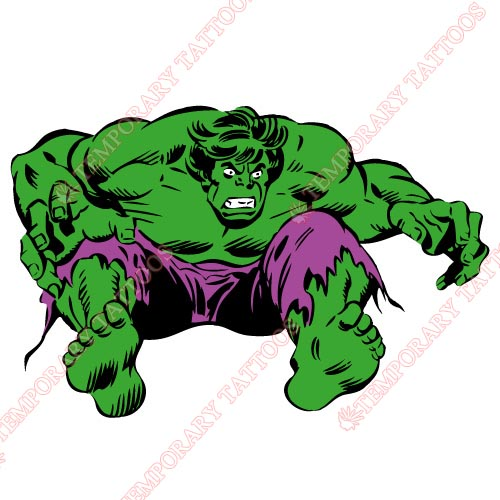 Hulk Customize Temporary Tattoos Stickers NO.152