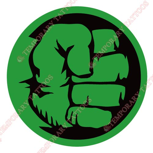 Hulk Customize Temporary Tattoos Stickers NO.153
