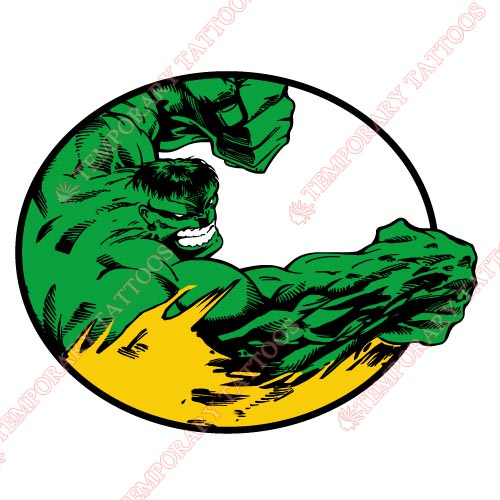 Hulk Customize Temporary Tattoos Stickers NO.154