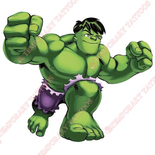 Hulk Customize Temporary Tattoos Stickers NO.160