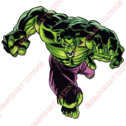 Hulk Customize Temporary Tattoos Stickers NO.161
