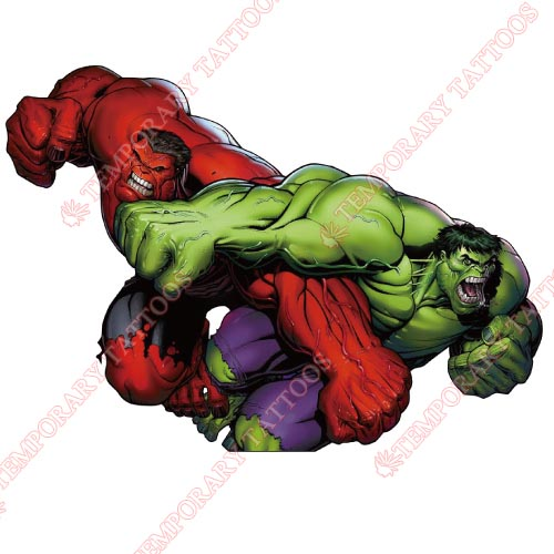 Hulk Customize Temporary Tattoos Stickers NO.162
