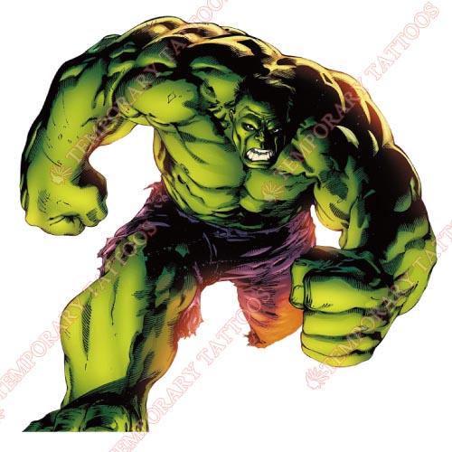 Hulk Customize Temporary Tattoos Stickers NO.164
