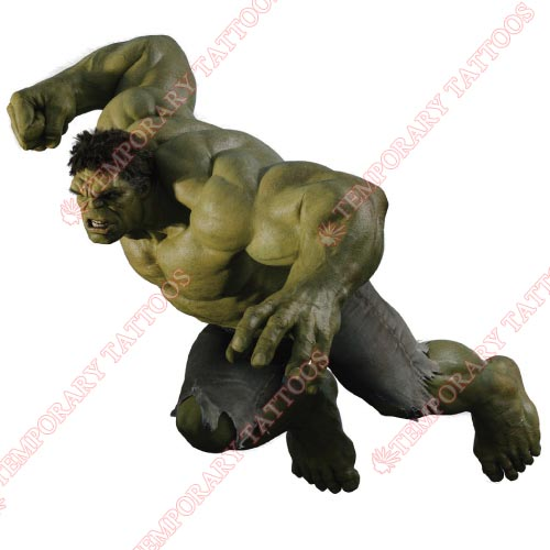 Hulk Customize Temporary Tattoos Stickers NO.165