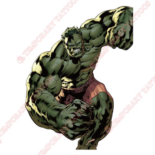 Hulk Customize Temporary Tattoos Stickers NO.168