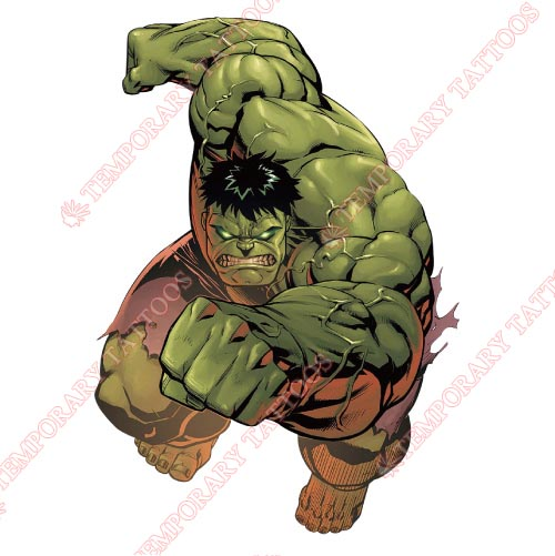 Hulk Customize Temporary Tattoos Stickers NO.169