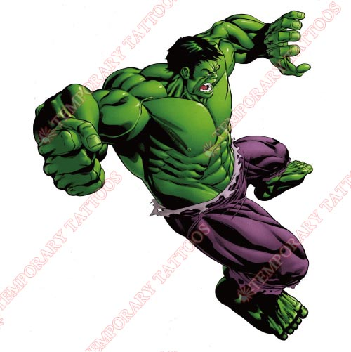 Hulk Customize Temporary Tattoos Stickers NO.171