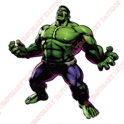 Hulk Customize Temporary Tattoos Stickers NO.172