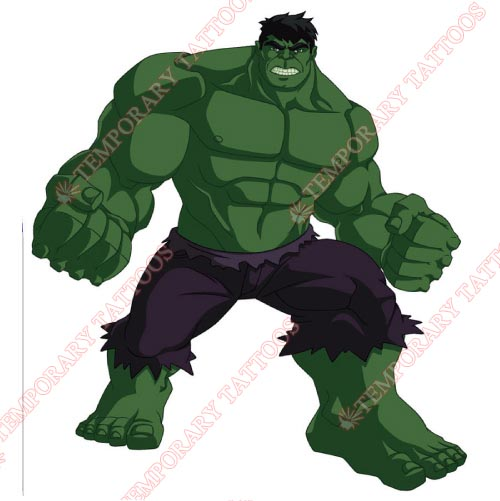 Hulk Customize Temporary Tattoos Stickers NO.173