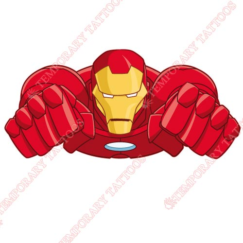 Iron Man Customize Temporary Tattoos Stickers NO.187
