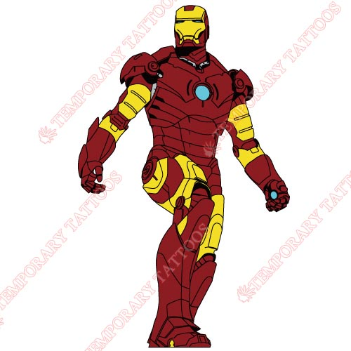 Iron Man Customize Temporary Tattoos Stickers NO.188