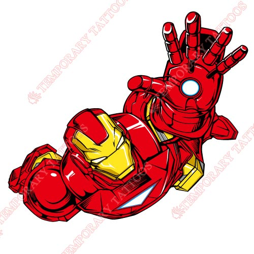 Iron Man Customize Temporary Tattoos Stickers NO.189