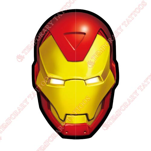 Iron Man Customize Temporary Tattoos Stickers NO.191