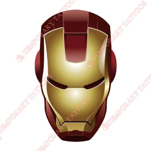 Iron Man Customize Temporary Tattoos Stickers NO.193
