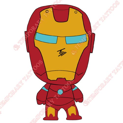 Iron Man Customize Temporary Tattoos Stickers NO.197