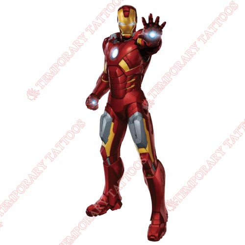 Iron Man Customize Temporary Tattoos Stickers NO.200