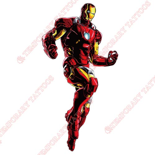 Iron Man Customize Temporary Tattoos Stickers NO.202