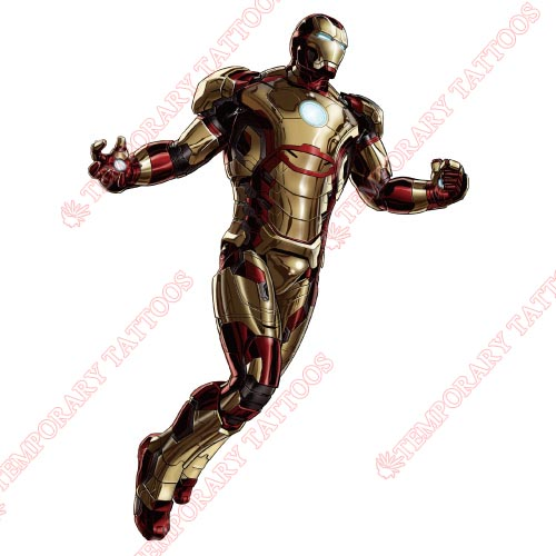 Iron Man Customize Temporary Tattoos Stickers NO.203