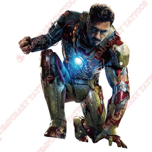 Iron Man Customize Temporary Tattoos Stickers NO.204