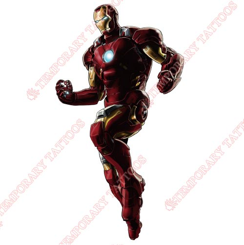 Iron Man Customize Temporary Tattoos Stickers NO.211