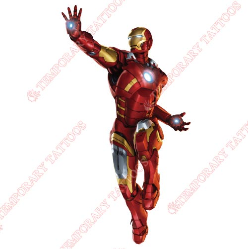 Iron Man Customize Temporary Tattoos Stickers NO.218