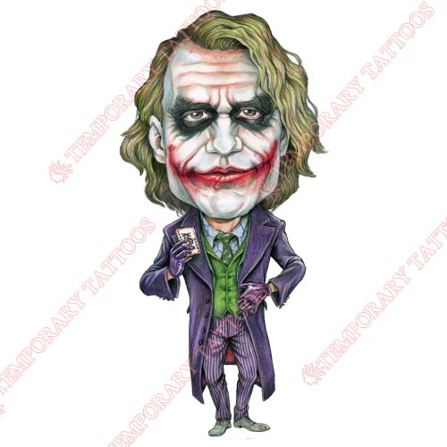 Joker Customize Temporary Tattoos Stickers NO.483